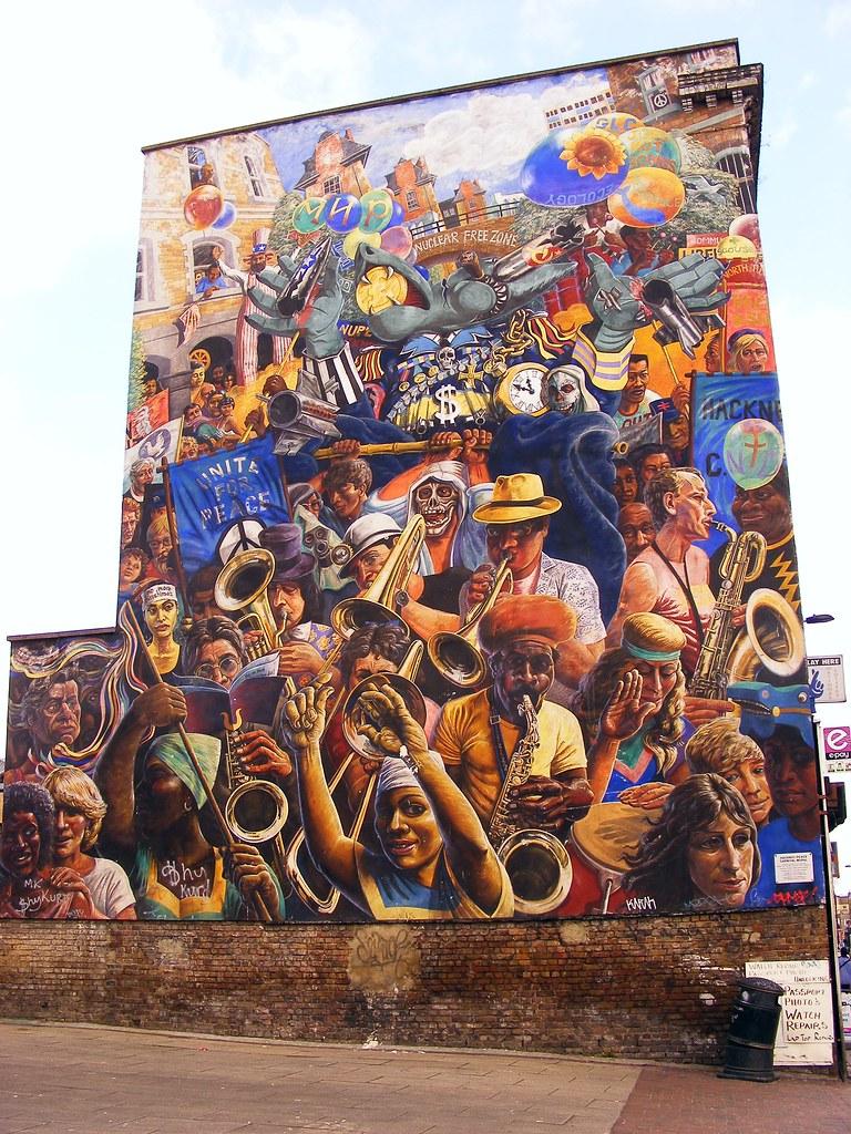 Hackney Peace Mural