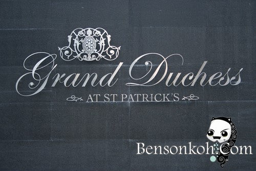 Elegant Grand Duchess logo which is embedded almost everywhere in the project
