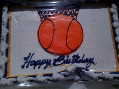 Esther got me the perfect Bday cake mashup for tonight