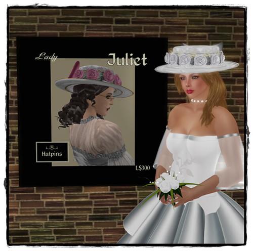 Hatpins - Lady Juliet