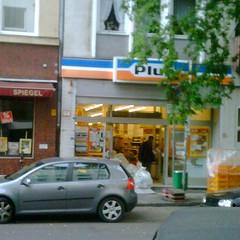 Mein letzter Einkauf bei Plus auf der Lorettostraße ... Tschööö.
