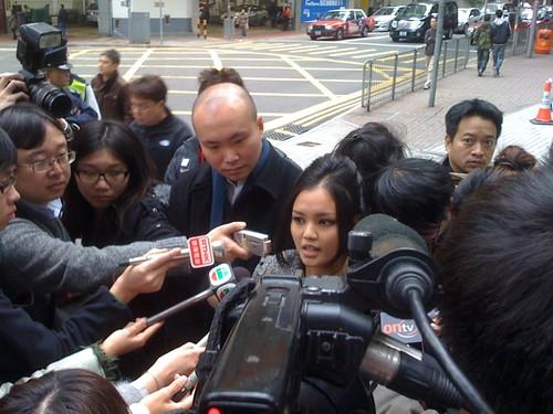 陳巧文保釋後接受傳媒採訪 #ChanHauMan #0101hk #stopxrl
