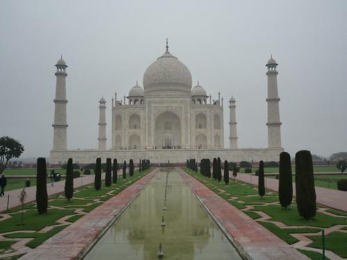Das wunderschoene Taj Mahal