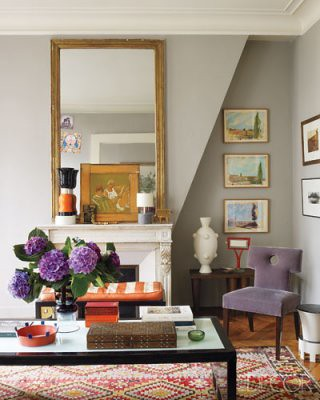 elle decor simon upton paris living rm