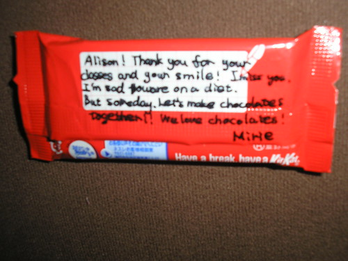 Kit Kat from Mirie