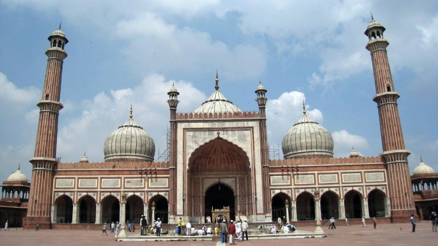 The Jama Masjid of Delhi is India's largest mosque.