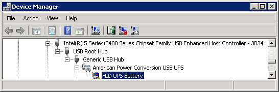 Using a USB connected APC UPS with Windows Server 2008 and VMware Server 2.0 (1/6)