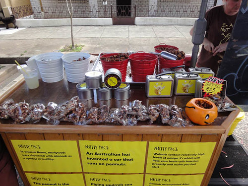 Norton Street Italian Festa: Candied nuts