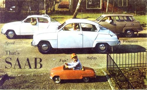 Saab 96 cat