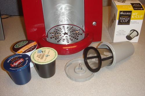 Keurig, K-cups, My K-cup
