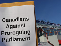 Canadians Against Proroguing Parliament