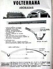 Reprodução de anúncio de lajes pré-moldadas nos anos 60