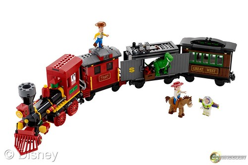 7597 Western Train Chase