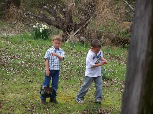 Hunting Easter Eggs