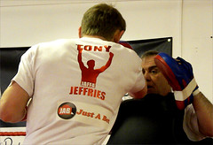 Tony Jeffries public workout