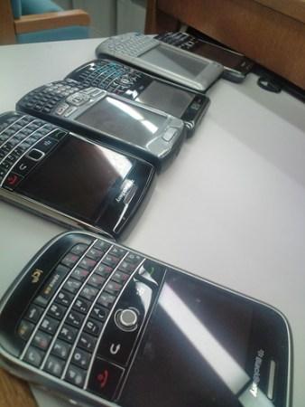 kuro氏のBlackBerry大集合