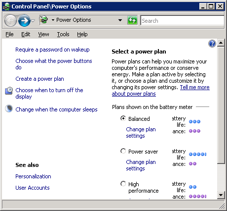 Using a USB connected APC UPS with Windows Server 2008 and VMware Server 2.0 (3/6)