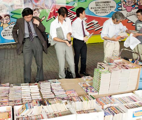 Buying manga