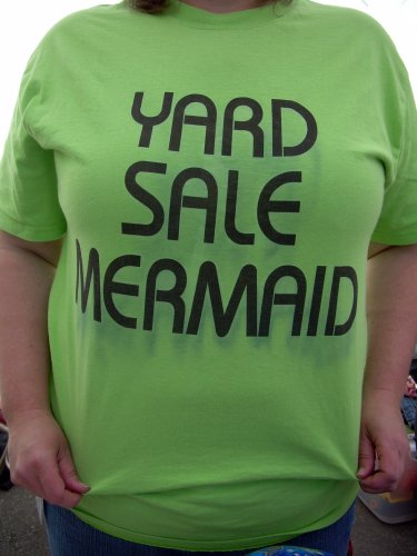 Yard Sale Mermaid