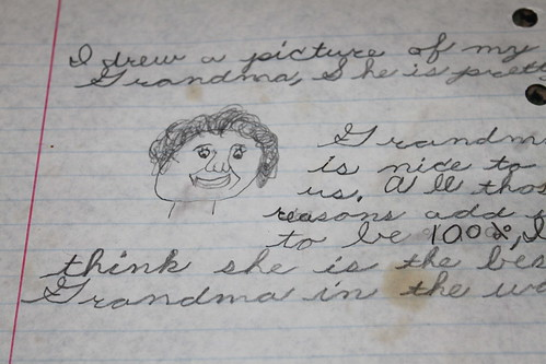 Elementary School - Lib Turnock is my Grandma - Close Up of Picture