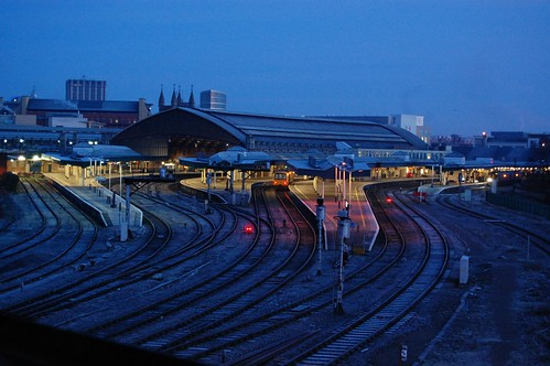 Temple Meads early morning