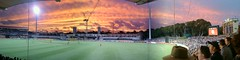 Sunset at Adelaide Oval