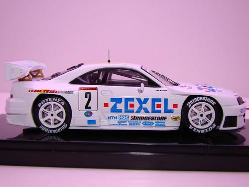 EBBRO ZEXEL SKYLINE R33 JGTC 1998 (5)
