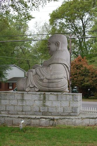 Giant Buddha, Hickory Hill, Memphis, Tenn.