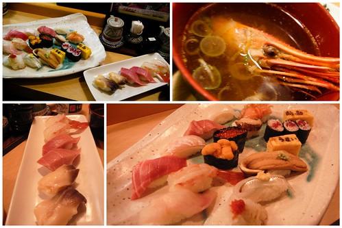 sushi lunch