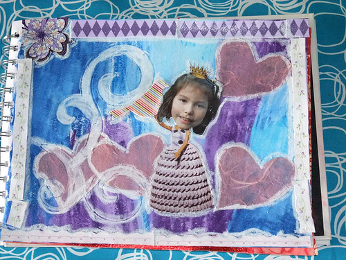 Art Journal Princess by Jaylene