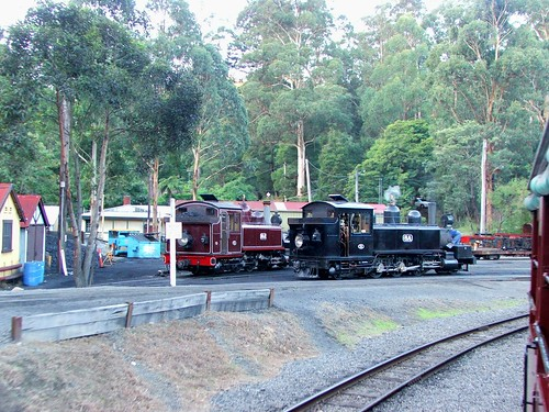 Various Puffing Billy Engines