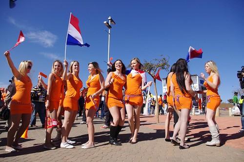Ambush Marketing at Netherlands v Denmark