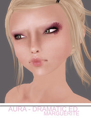 Aura Dramatic Ed. - Marguerite Makeup