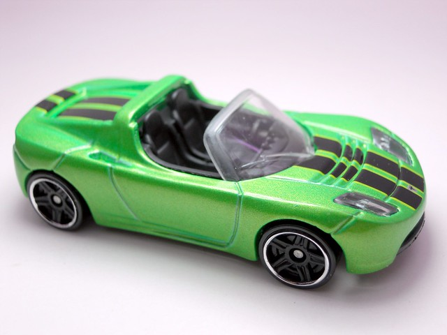 hws tesla roadster green (2)