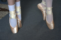 February 7 2010 - Ballet Pointe Shoes