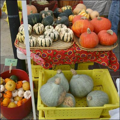 Squash Varieties by La Grande Farmers' Market