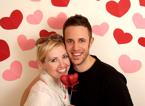 Kay and Ross are Valentines