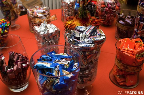 Candy Buffet at wedding at Raspberry Plain