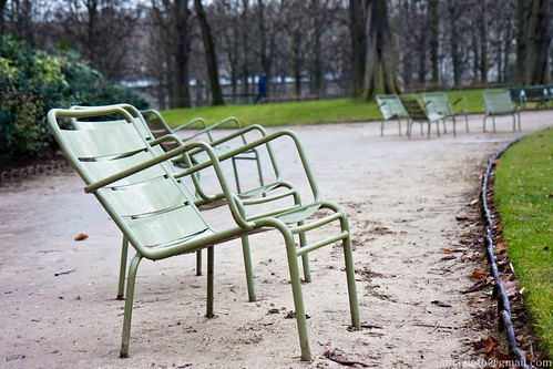 Those Famous Luxembourg Lawn Chairs