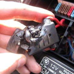 Wiring Diagram Relay Starter Motor 4 Wire Ceiling Fan Pics Of My Melted Fuse Box (finally)