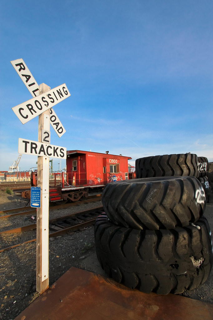 Train still life