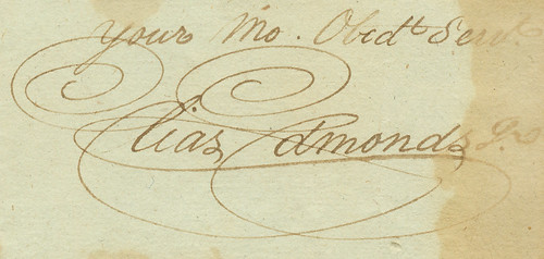 A Lovely Signature, 1796 by DukeUnivLibraries, on Flickr