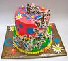 spring birthday cake