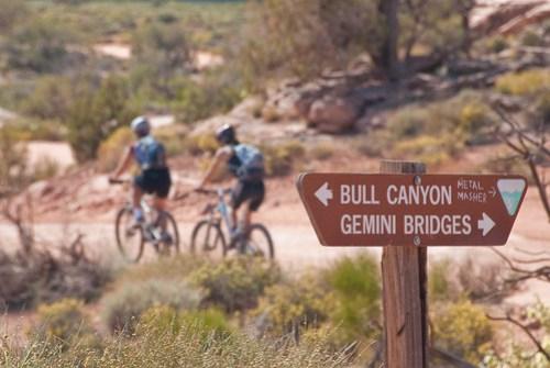 Gemini Bridges Biking