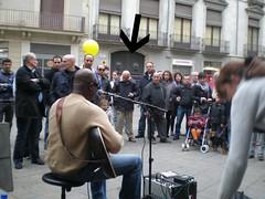 Concerto ao ar livre em Barcelona