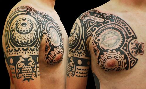 4640049211 b28e934a38 m Where Can I Find High Quality Tribal Sleeve Tattoos?