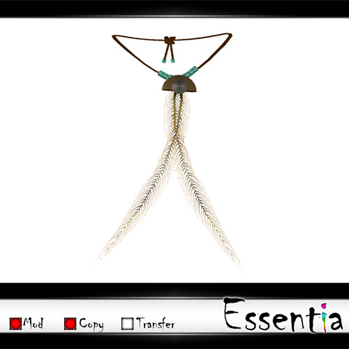 Essentia - Montana Feather Necklace