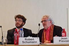 Robert Schumann & Jean Prévost, groupe Casino