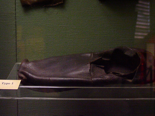 Mary Rose type 1 shoe