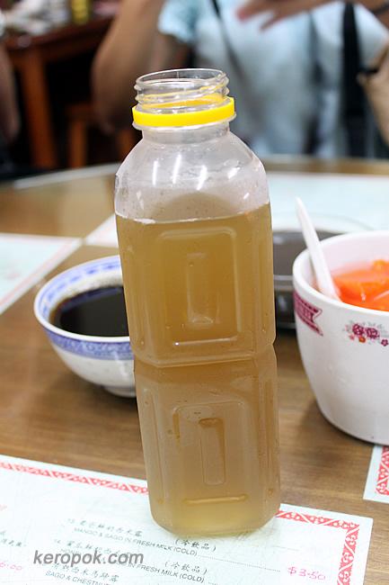 Ginseng Honey Suckle Chrysanthemum Tea